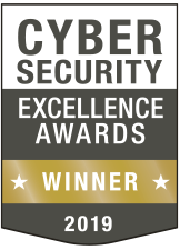 2019 CyberSecurity Excellence Awards GOLD WINNER